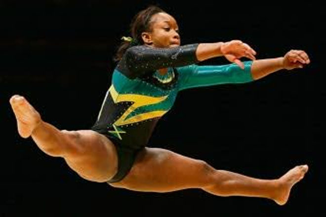 Gymnast Toni-Ann Williams makes historic Olympic Games qualification
