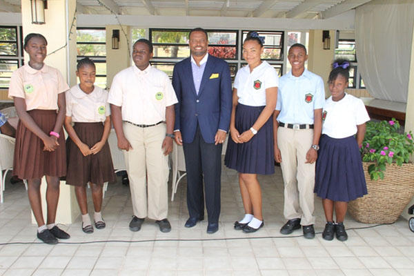 Ministry of Tourism launches participants for 2014 Bank of Nevis Ltd. Tourism Youth Congress