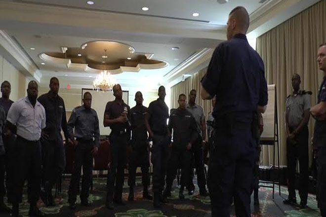 Security Personnel Being Trained Across St. Kitts as Part of Exercise Tradewinds 2015