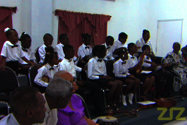 Children graduate Music Workshop
