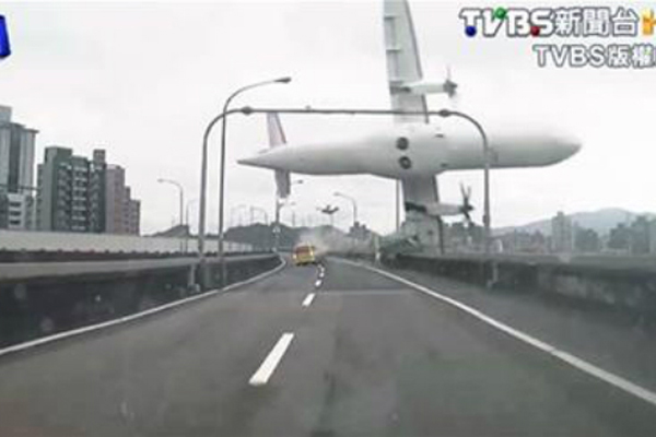 UPDATE: Taiwan plane with 58 aboard crashes in Taipei; 23 killed
