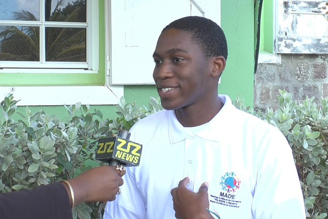 SKN Youth Nominated As Queen Young Leader