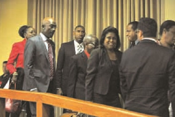T&T Opposition walks out on Govt's no-confidence motion on Rowley