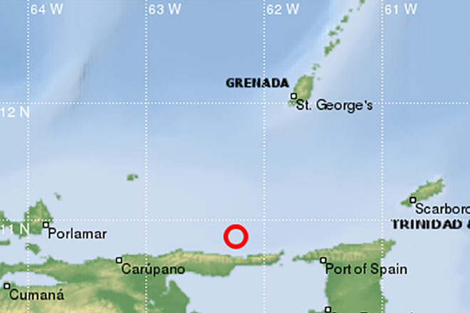 Trinidad rattled by second earthquake within six days