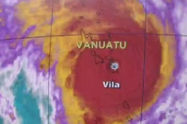 Tropical Cyclone Pam becomes Category 5 storm, slams Vanuatu capital