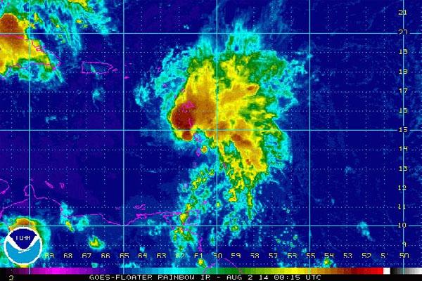 Tropical Storm Bertha Update