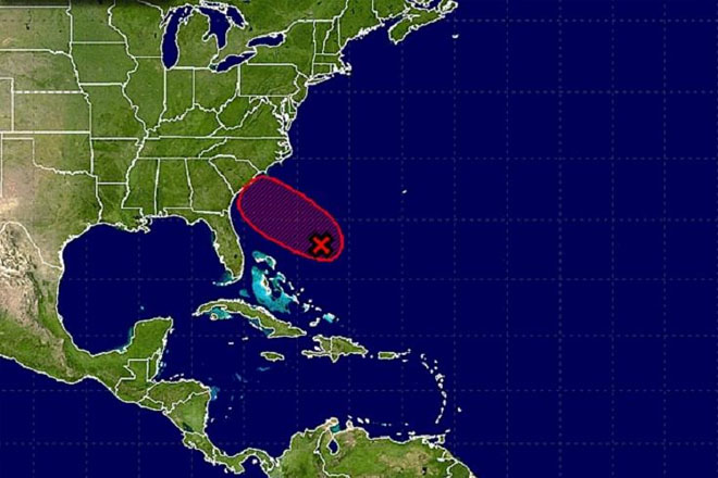 Tropical Storm Bonnie could be forming off the Bahamas