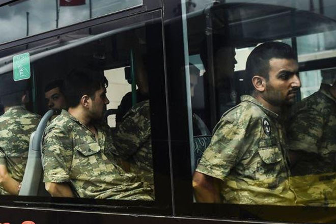 Turkey coup attempt: Charges laid against 99 generals and admirals