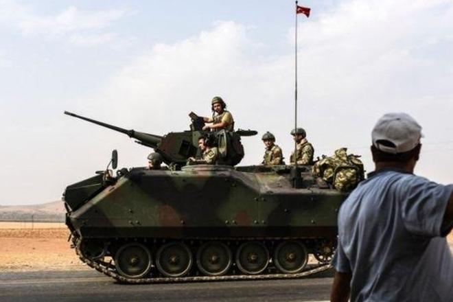 Syria war: US warns over Turkish-Kurdish violence