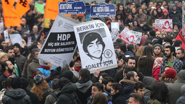Mourners gather in Turkey for funeral of boy apparently killed by tear gas canister