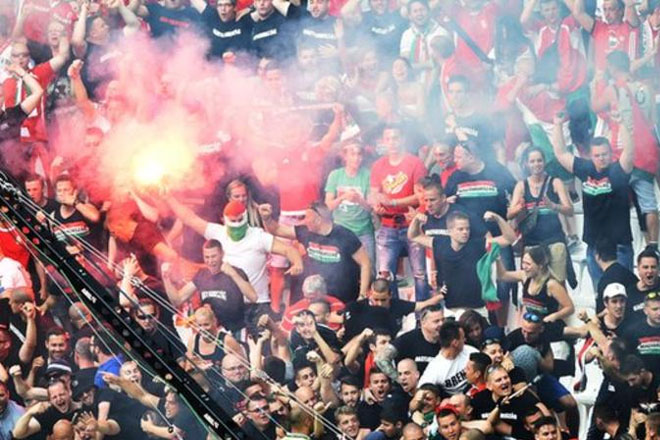 Euro 2016: Hungary fined after crowd disturbances against Iceland
