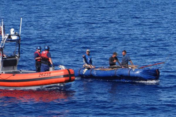 US Coast Guard repatriates 43 Cuban migrants