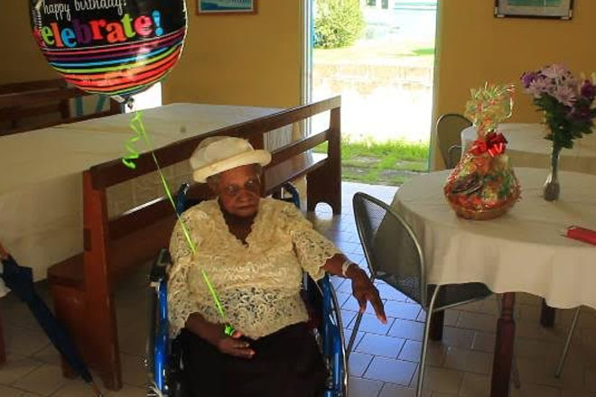 St. Kitts Welcomes another Centenarian