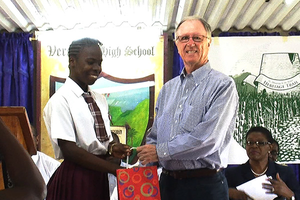 Verchilds High Student Wins Heritage Trail Logo Competition