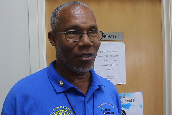 Rotary Club of Liamuiga distributes to the needy