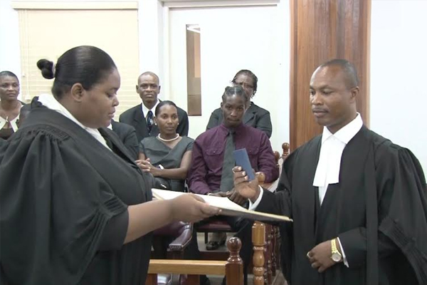 Assistant Commissioner of Police Henderson joins the Bar