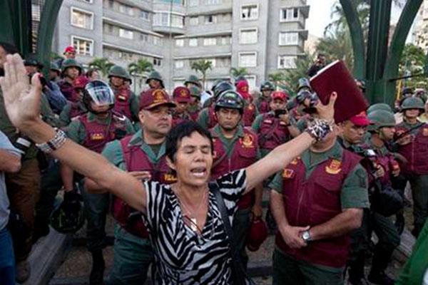 Mayor of Venezuelan city arrested amid protests