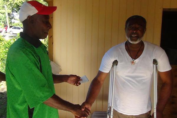 Calypso Cricket Club presents to Vill Stapleton