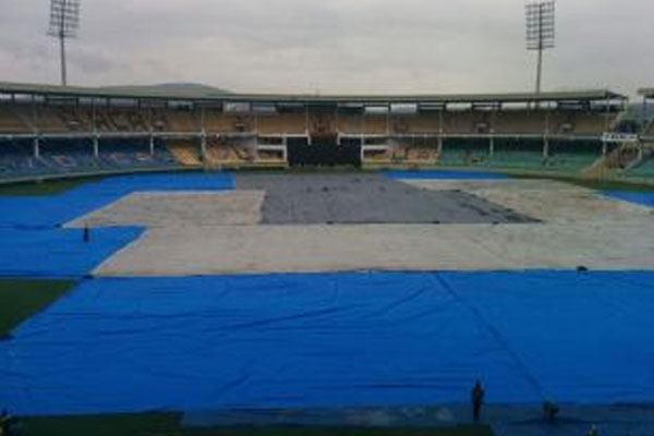 Third ODI abandoned because of cyclone