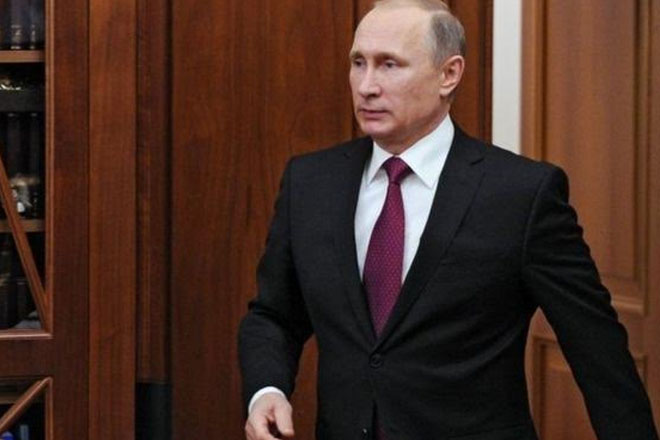 Putin vows 'extremely tough' action on Syria threats