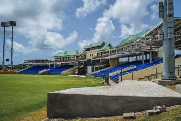 Special Seating and Party Stand for CPL matches in St. Kitts