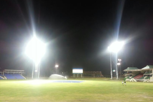 Testing begins for New Lights and Screens at Warner Park