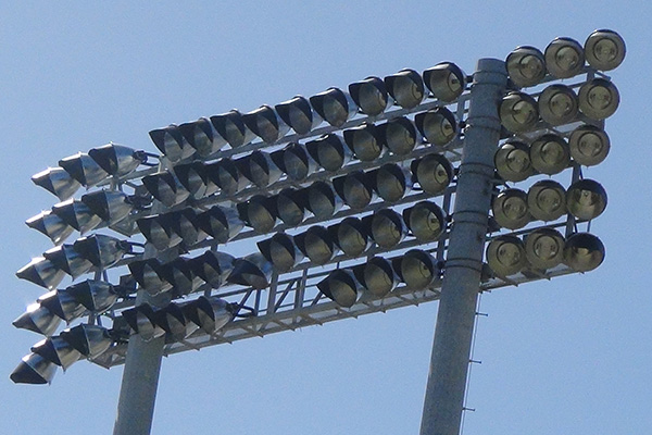 Warner Park lighting project nearing completion