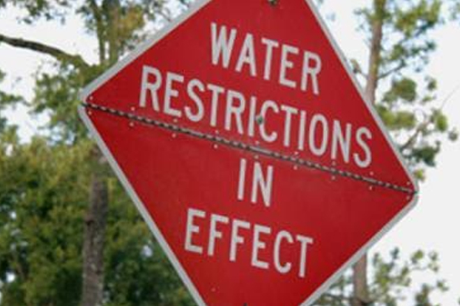 Water rationing continues