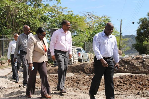 CDB-funded Water Enhancement Project on Nevis progressing satisfactorily