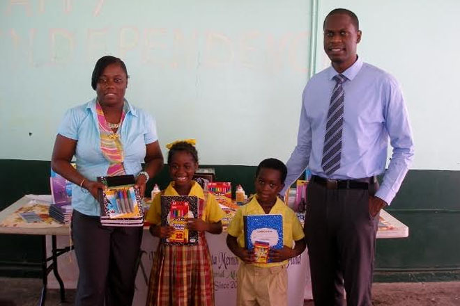 Schools Receive Supplies under William Marcus Natta Scholarship Fund