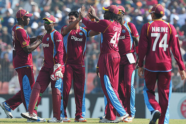 Windies ODI squad for Dhaka Bank Cup