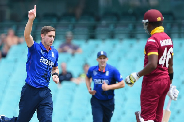 Woakes' five-for wrecks West Indies