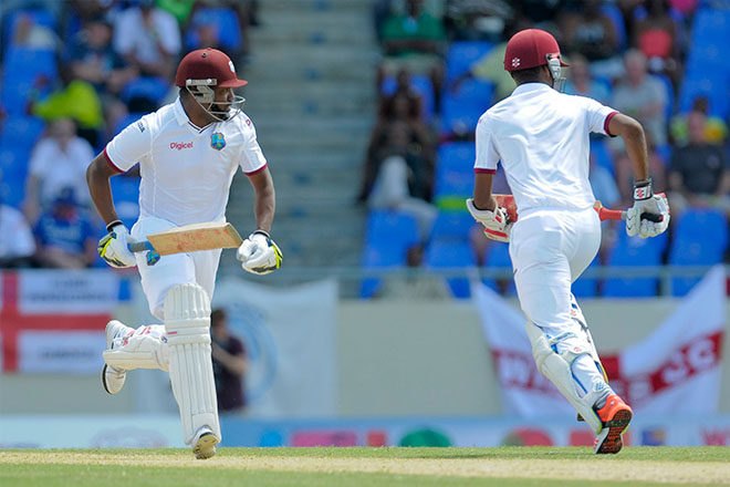 Windies stage gutsy fight-back after early slump