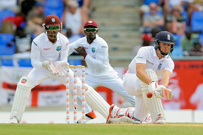 Windies set 438 for victory after Ballance hundred