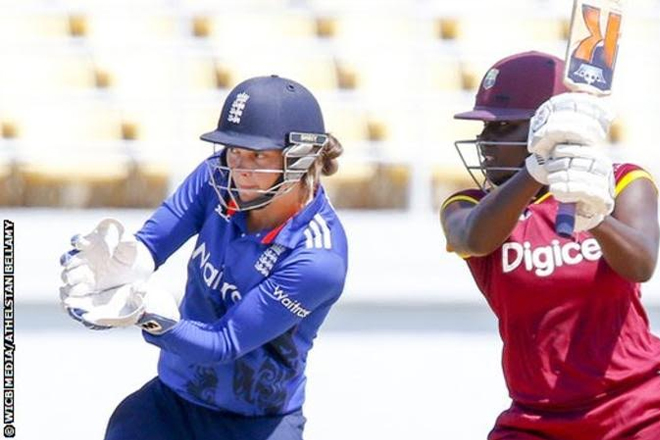 West Indies v England women: Tourists collapse to defeat