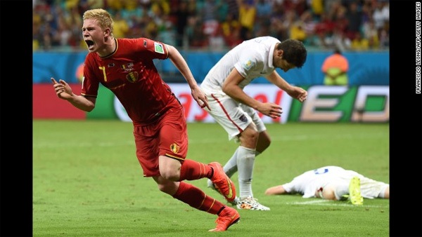 World Cup: USA dream shattered by Belgium