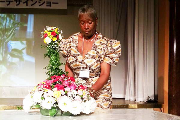 St Kitts & Nevis Represented At World Flower Council Summit 2013 In Sapporo, Japan