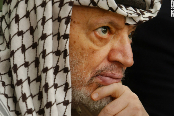 Arafat's widow calls his death a 'political assassination'