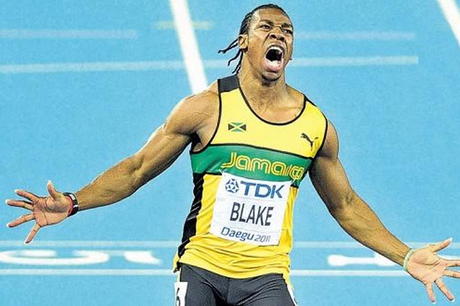 Yohan Blake for T20 celebrity game for Dominica relief
