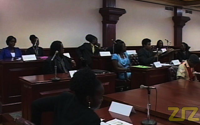 Youth Debate Motion of No Confidence