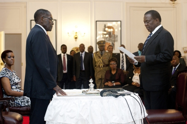 Zimbabwe: New vice-presidents sworn in