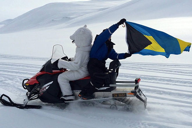 Two Bahamians achieve a 'really cool' North Pole first