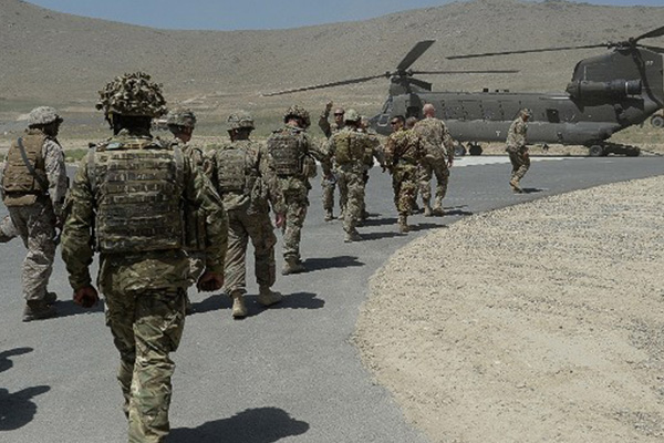 Six U.S. troops killed in helicopter crash in Afghanistan