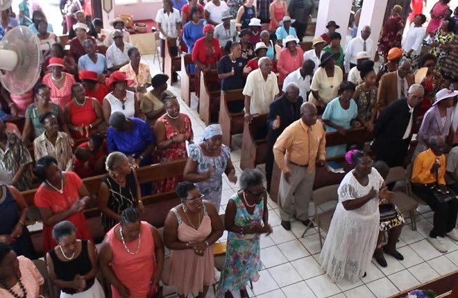 Antioch Baptist Church hosts Senior Saints Sunday