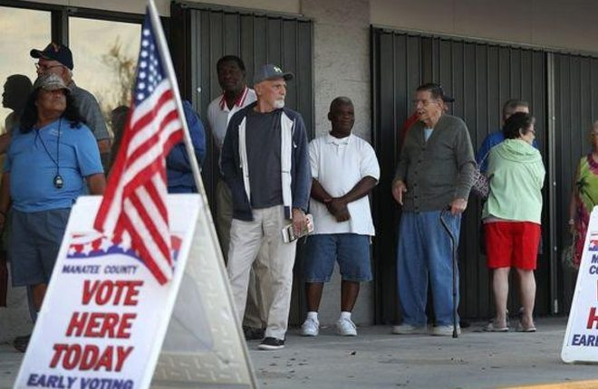 US election: Polling stations open in must-win state of Florida