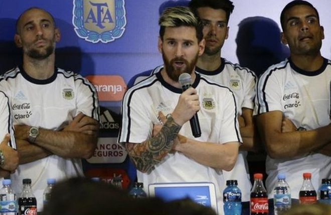 Lionel Messi: Argentina forward leads media boycott over Lavezzi marijuana claims