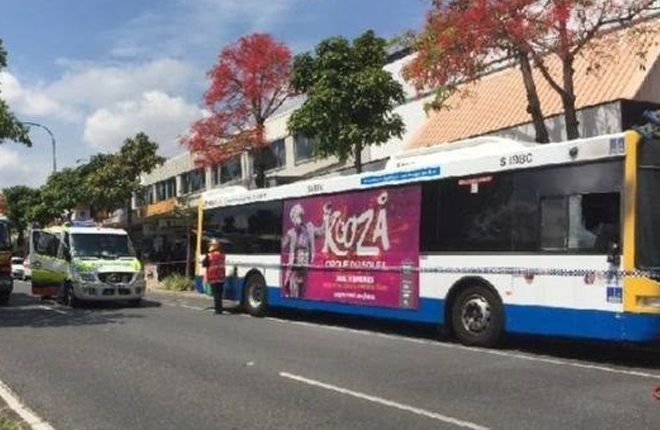 Bus driver dies after being set on fire