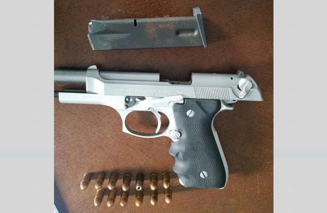 Police discover twenty seventh (27th) illegal firearm in 2016