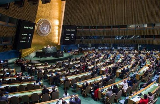 US abstains for first time in UN vote on ending Cuba embargo
