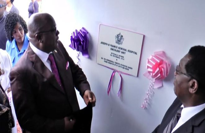 Opening of the oncology unit